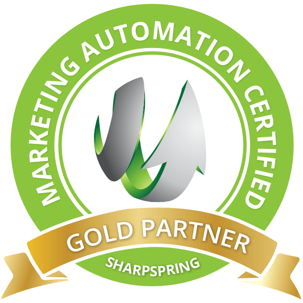 Marketing Automation Certified SharpSpringGold Partner